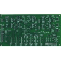 Elliptic Equalizer EEQ-12 with 12dB/Octave Slopes for Mastering, Bare PC Board