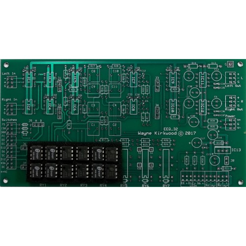 Elliptic Equalizer EEQ-12 with 12dB/Octave Slopes for