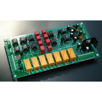 Elliptic Equalizer EEQ-12 with 12dB/Octave Slopes for Mastering, Assembled and Tested PC Board