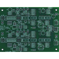 Flat Moving Coil Phono Preamp With Balanced Input and Balanced Output, Bare PC Board