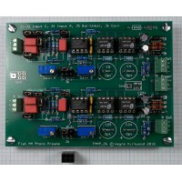 Flat Moving Magnet Phono Preamp With Balanced Input and Balanced Output, Assembled and Tested