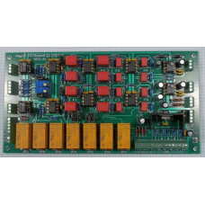 Mastering Transfer Console MTC-IGFO, Input, Gain, Filter, Output, Assembled and Tested PC Board