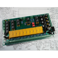 MS II Second Generation Mid-Side Encoder Decoder Matrix for Mastering, Assembled and Tested PC Board