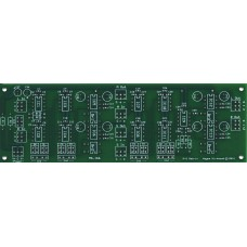 Simple MS Mid-Side Encoder Decoder Matrix for Mastering, Bare PC Board