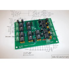 Mid Side Mini -  Simple MS Mid-Side Encoder Decoder Matrix for Mastering, Assembled and Tested PC Board