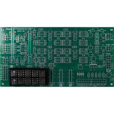 Mastering Transfer Console MTC-IGFO, Input, Gain, Filter, Output, Bare PC Board and ICs