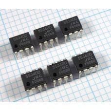 NJM5534DD Low Noise Audio Op Amp, (NE5534A) DIP, Qty 6