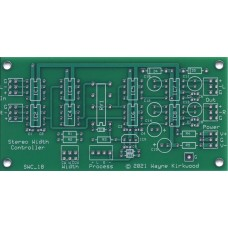 Stereo Width Controller for Mastering and Transfer, Bare PC Board